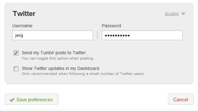 Tumblr integra Twitter