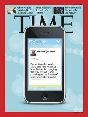 Time dedica su portada a Twitter