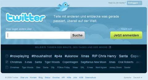 twitter en alemán