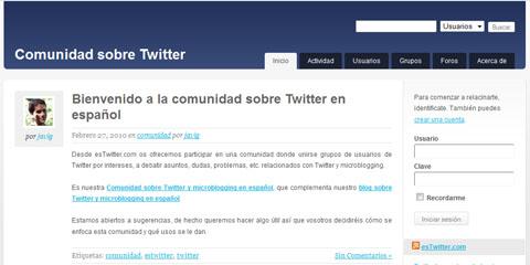 Comunidad esTwitter