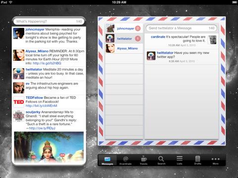 Twitterlator para iPad