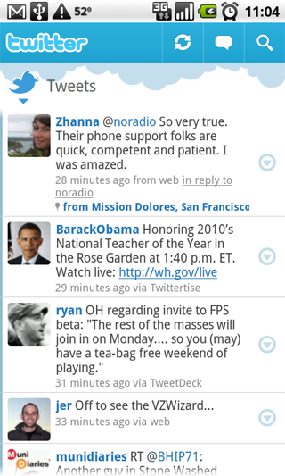 captura twitter android app