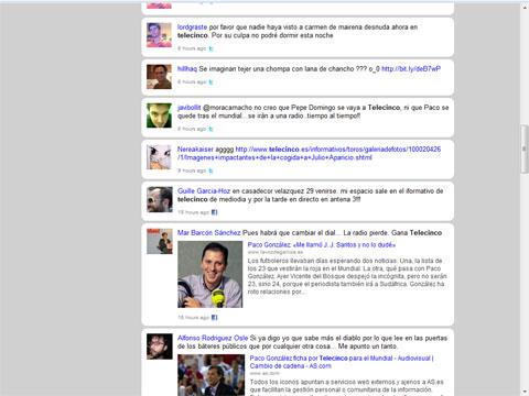 kurrently prueba buscando Telecinco