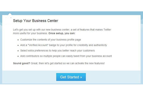Twitter Business Center