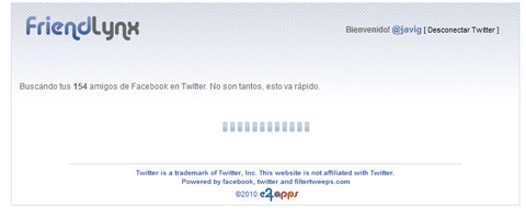 friendlynx buscando contactos