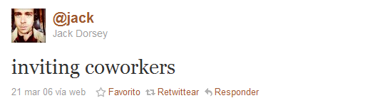 segundo tweet historia twitter
