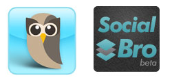 SocialBro en HootSuite