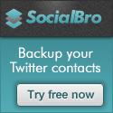 SocialBro - Analiza y gestiona tus contactos en Twitter